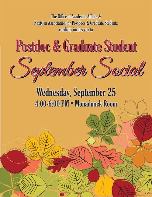 2013 September Social Poster