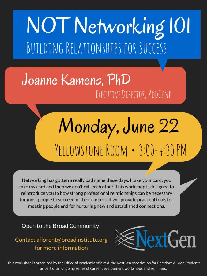 June 2015 Networking